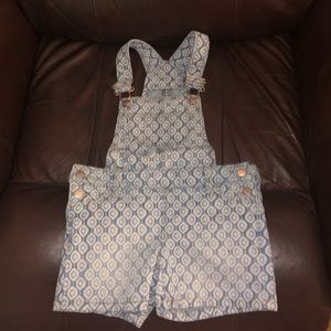 Old Navy size 5 romper and overalls